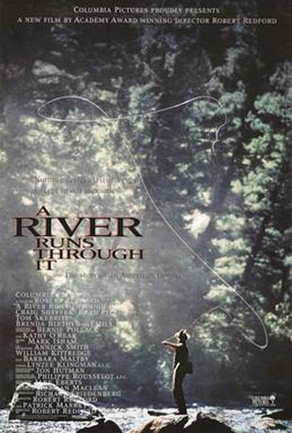 A River Runs Through It (film) - North American theatrical release poster