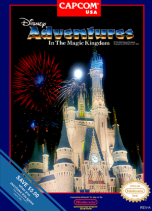 Adventures in the Magic Kingdom - Box art