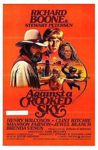 Against a Crooked Sky - Theatrical release poster