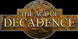 Logo for Age of Decadence