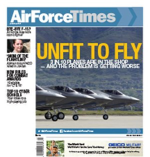 Air Force Times - Air Force Times cover 10 April 2017