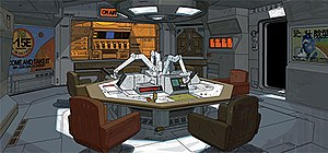 Alien: Isolation - Like the original Alien film, Alien: Isolation features a lo-fi, '70s vision of what the future would look like. These concept arts show both the exterior and interior of the game's main setting, Sevastopol Station.