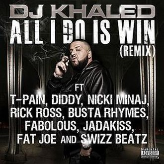 All I Do Is Win - Image: All Do Is Win REMIX