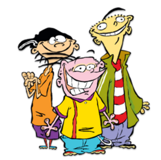 "Ed, Edd n Eddy - From the left: Edd (""Double D""), Eddy, and Ed"