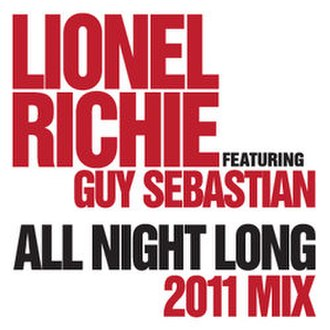 All Night Long (All Night) - Image: All Night Long Lionel Ritchie and Guy Sebastian