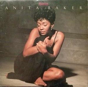 Rapture (Anita Baker album) - Image: Anita Baker Rapture