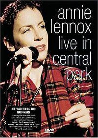 Medusa (Annie Lennox album) - DVD cover