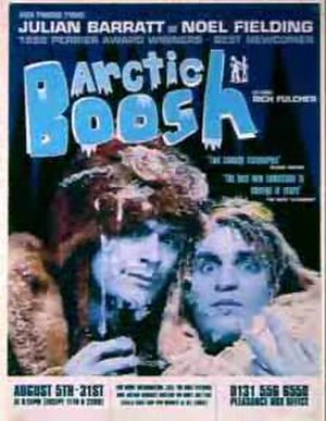 Arctic Boosh - Promotional poster for the 1999 show