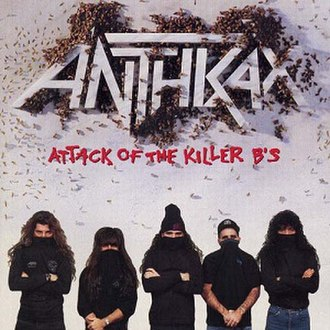 Attack of the Killer B's - Image: Attack of the Killer B's (Anthrax album) coverart