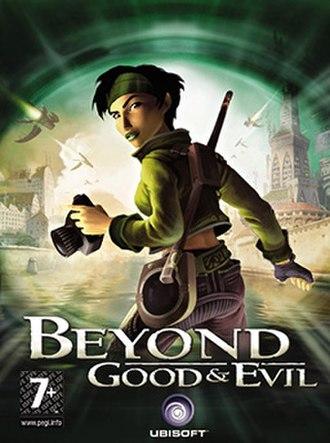 Beyond Good & Evil (video game) - Image: BGE cover