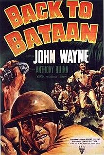 <i>Back to Bataan</i> 1945 film by Edward Dmytryk