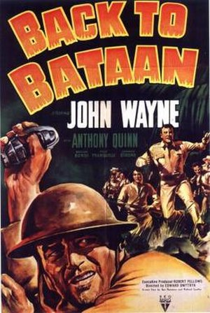 Back to Bataan - Theatrical poster