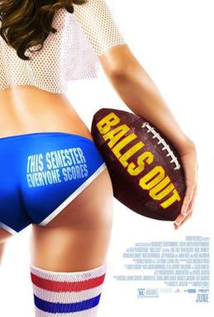 Balls Out (2014 film) - Image: Balls Out Poster