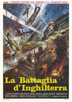 Eagles Over London - Italian film poster