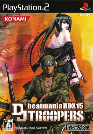 Beatmania IIDX 15: DJ Troopers - Cover art of the PlayStation 2 version
