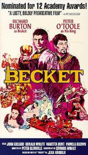 Becket (1964 film) - Original film poster by Sanford Kossin