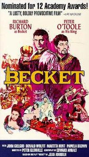 Becket (1964 film) - Original film poster by Sanford Kossin