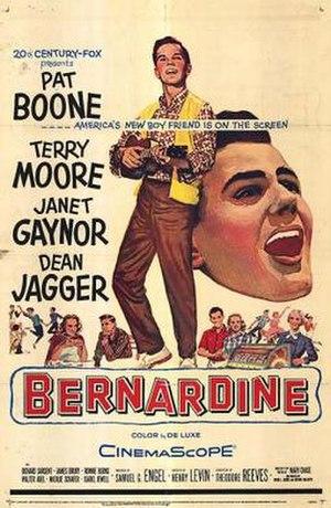 Bernardine (film) - Film poster
