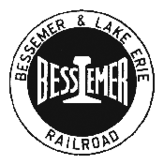 Bessemer and Lake Erie Railroad - Image: Bessemer and Lake Erie Railroad logo