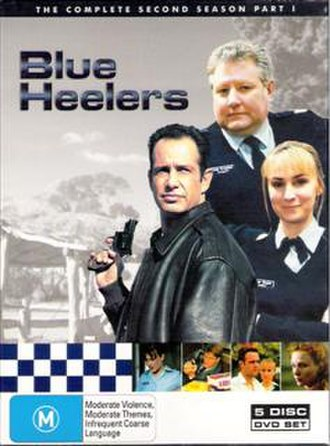 Blue Heelers (season 2) - Image: Bh dvd 2.1