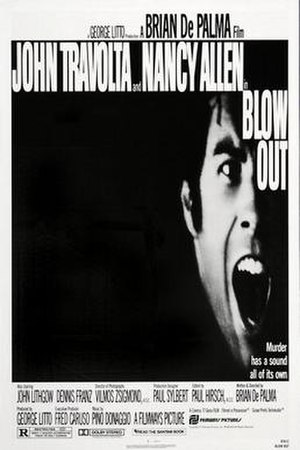 Blow Out - Theatrical release poster