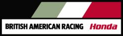 British American Racing (HONDA) logo