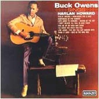 Buck Owens Sings Harlan Howard - Image: Buckowenssingsharlan howard
