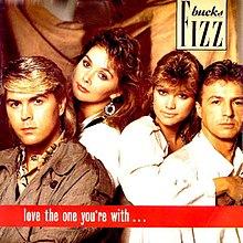 Bucks Fizz - Love the one.jpg