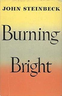 <i>Burning Bright</i> novel by John Steinbeck