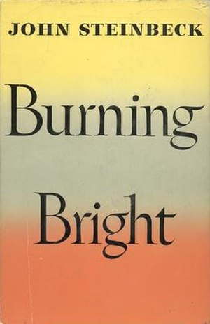 Burning Bright - First edition cover