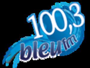 CJMC-FM - Image: CJMC 100,3bleufm logo