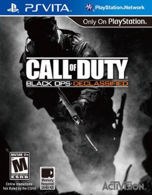 Call of Duty: Black Ops: Declassified - North American cover art