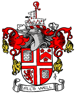 Metropolitan Borough of Camberwell - Arms of the metropolitan borough