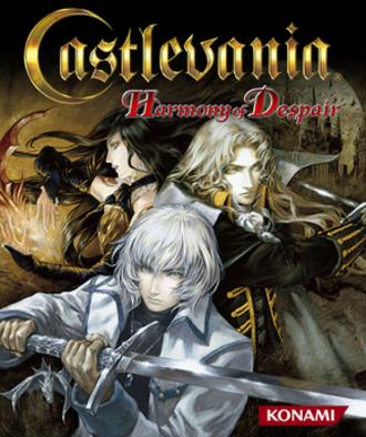 Castlevania: Harmony of Despair - Cover art
