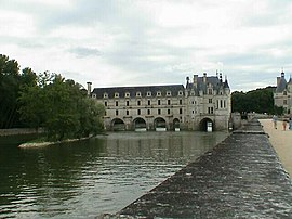 Chenonceau Château and the Cher River