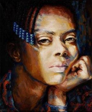 Chinwe Chukwuogo-Roy - 1994 Self Portrait