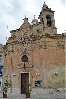 Church of Our Lady of Liesse Church in Valletta, Malta