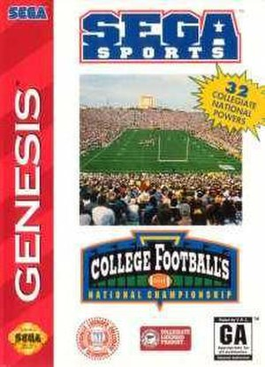 College Football's National Championship - Cover art