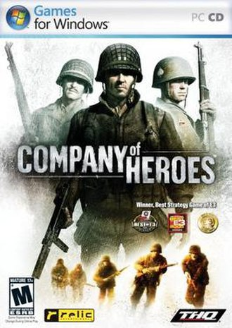 Games for Windows - Company of Heroes was one of the first titles to receive Games for Windows certification, which is displayed on its packaging.