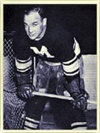 Lionel Conacher - Conacher as a member of the Montreal Maroons