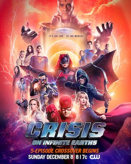 Crisis on Infinite Earths (Arrowverse) Arrowverse crossover event
