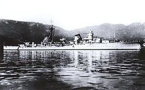 Italian cruiser Emanuele Filiberto Duca d'Aosta