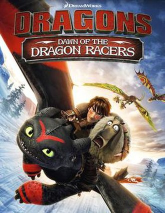 Dawn of the Dragon Racers - DVD cover