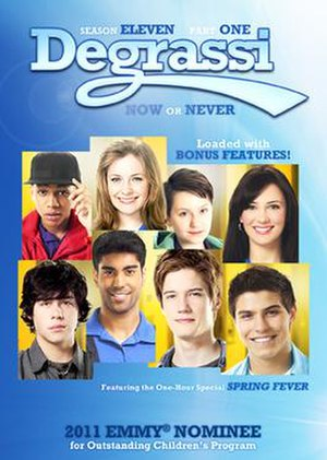 Degrassi (season 11) - Degrassi season 11 Part 1 DVD