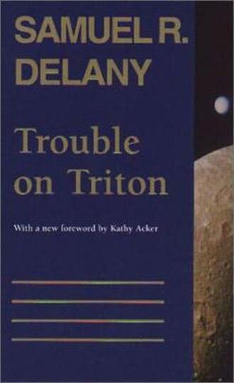 Triton (novel) - Cover of 1996 Wesleyan paperback edition.