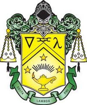 Delta Lambda Phi - Delta Lambda Phi crest