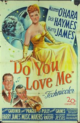 Do You Love Me (film) - Theatrical release poster