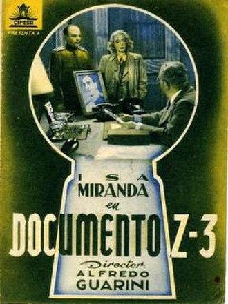 Document Z-3 - Image: Document Z 3