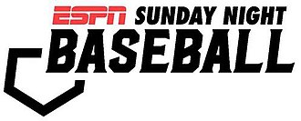 Sunday Night Baseball - Image: ESPN Sunday Night Baseball TV logo 2018