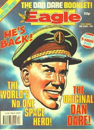 Dan Dare - Image: Eagle cover 1989